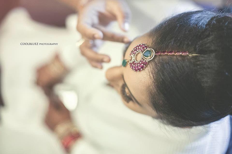 bridal makeup:coolbluez photography