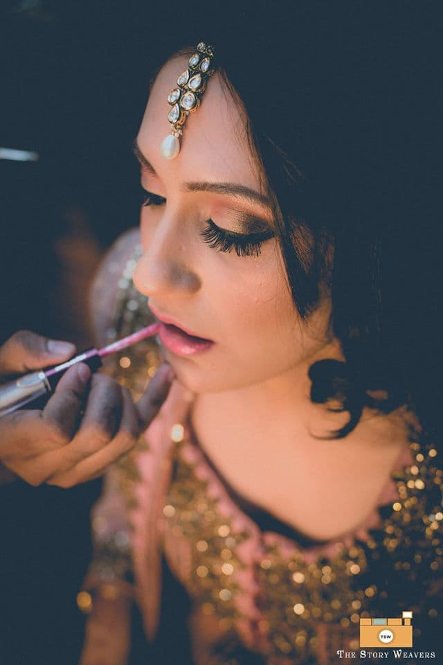 bridal makeup:the story weavers