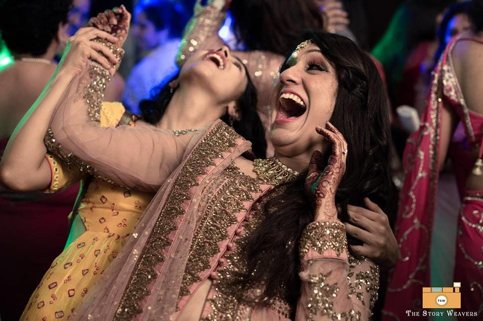 masti with bride:the story weavers