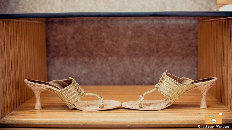 bridal footwear:the story weavers