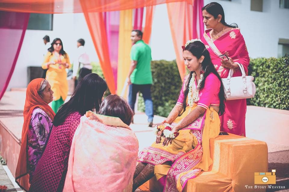wedding ritual with bride:the story weavers
