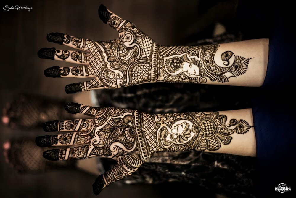bridal mehandi:sajda wedding planning and choreography services