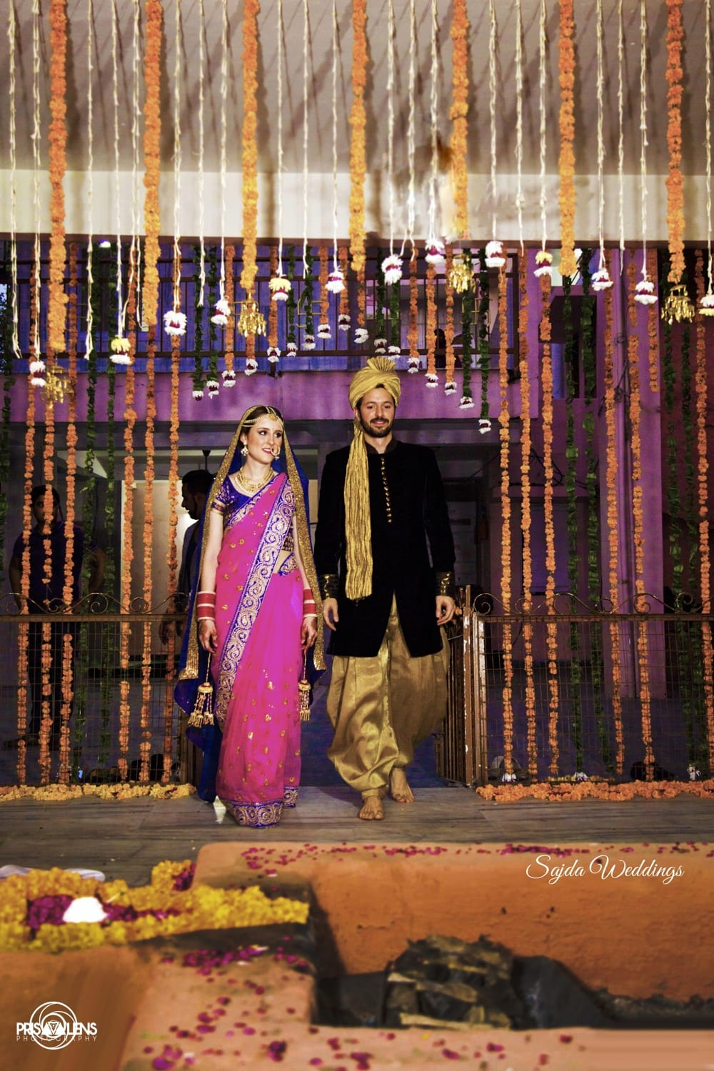couple entry for wedding:sajda wedding planning and choreography services