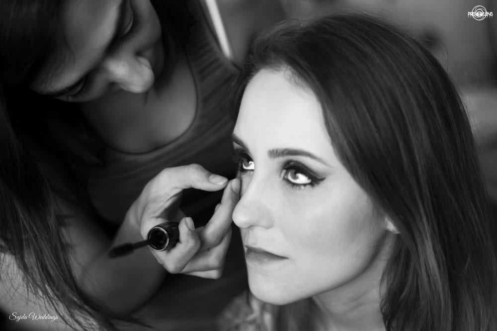 bridal makeup:sajda wedding planning and choreography services