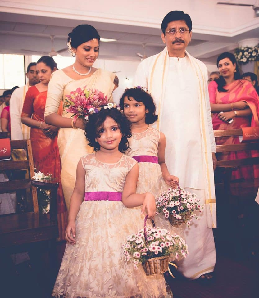 brides entry:pavan jacob photography