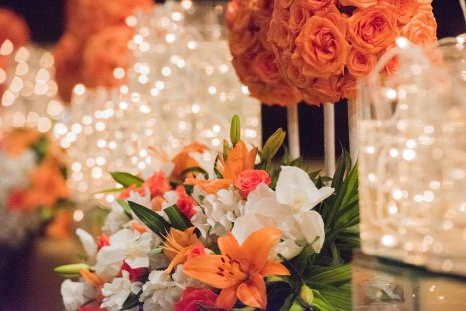 beautiful flower decoration:pavan jacob photography