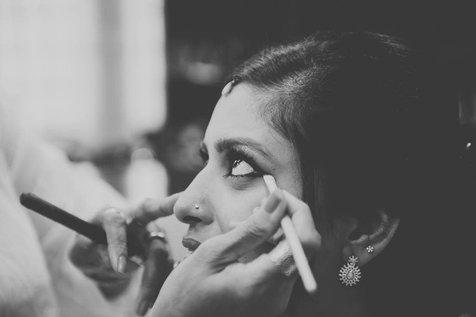 beautiful eye make up:pavan jacob photography