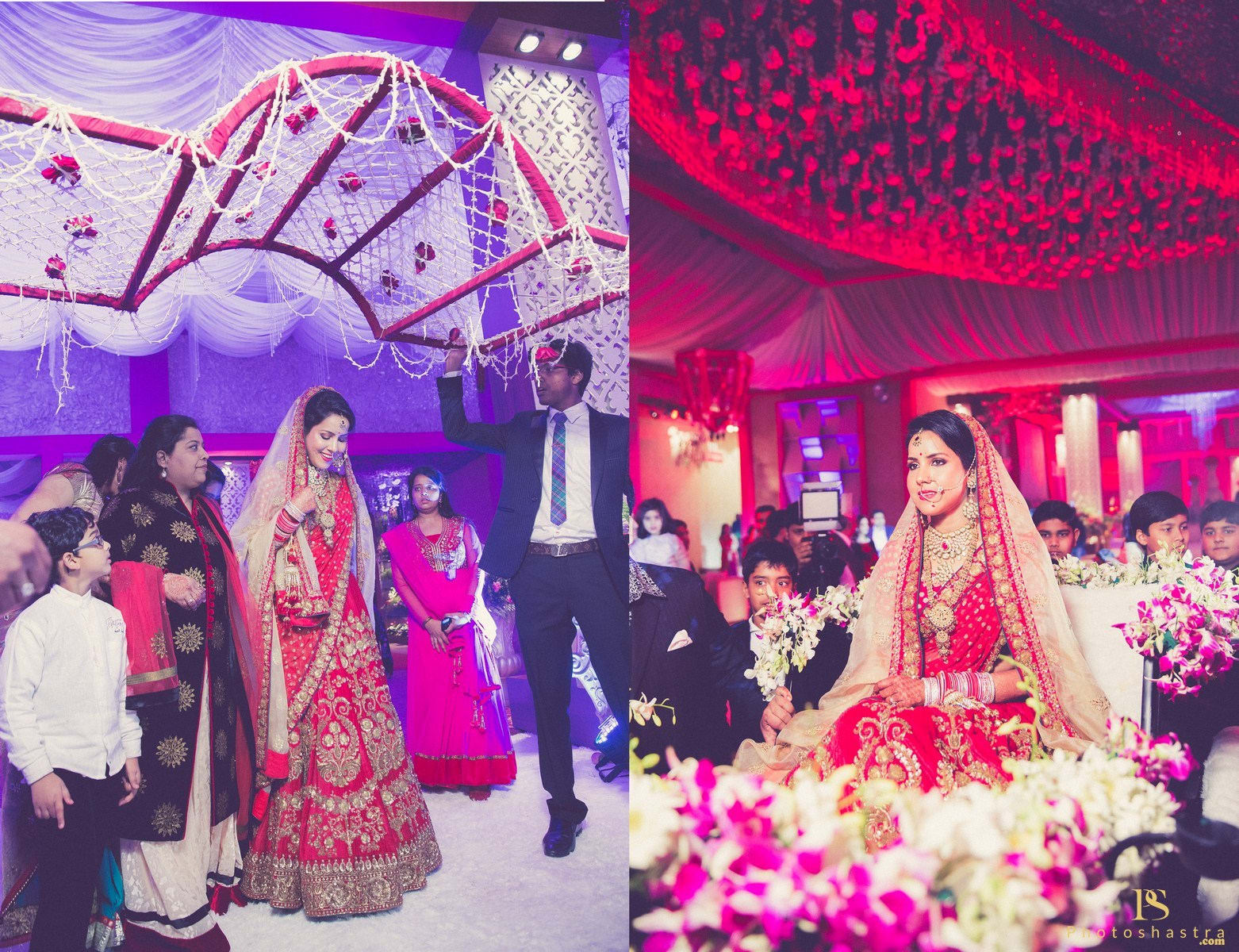 brides entry:photoshastra