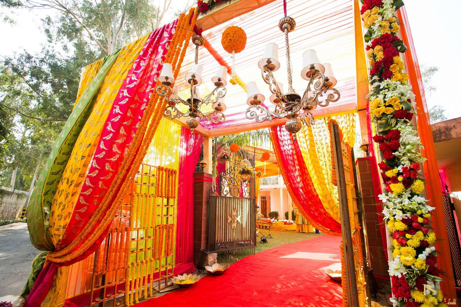 beautiful entrance decoration:photoshastra