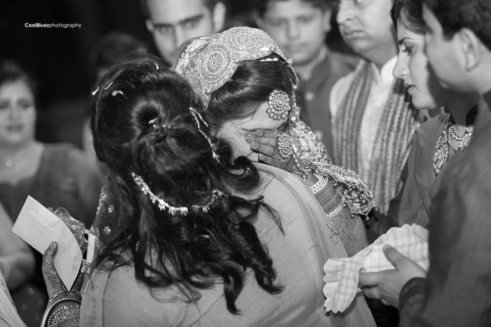 wedding ritual bidaai:coolbluez photography