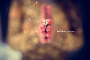 beautiful wedding ring:coolbluez photography
