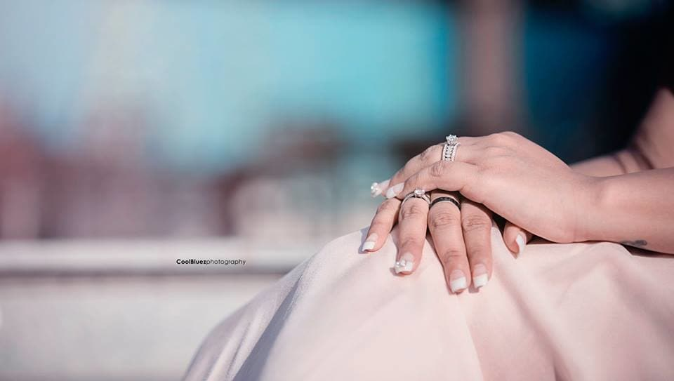 wedding ring:coolbluez photography