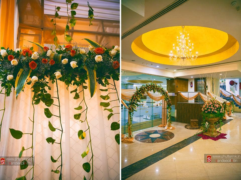 wedding venue decoration:shutterink photography