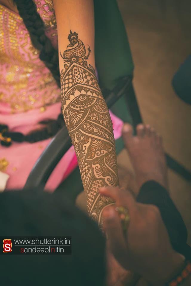 bridal mehndi:shutterink photography