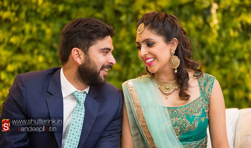 beautiful wedding couple:shutterink photography