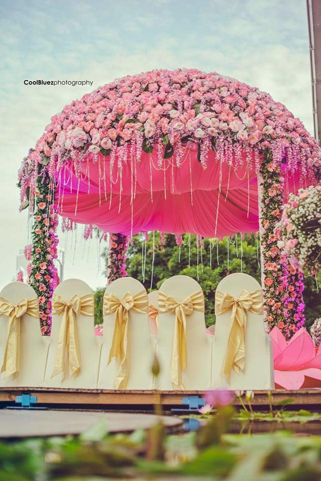 beautiful mandap decoration:coolbluez photography