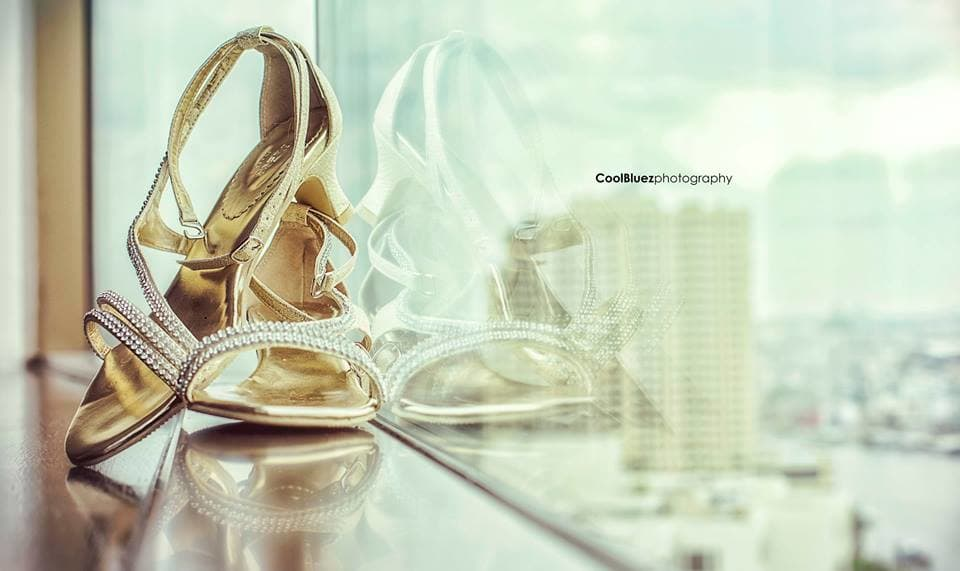 beautiful bridal footwears:coolbluez photography