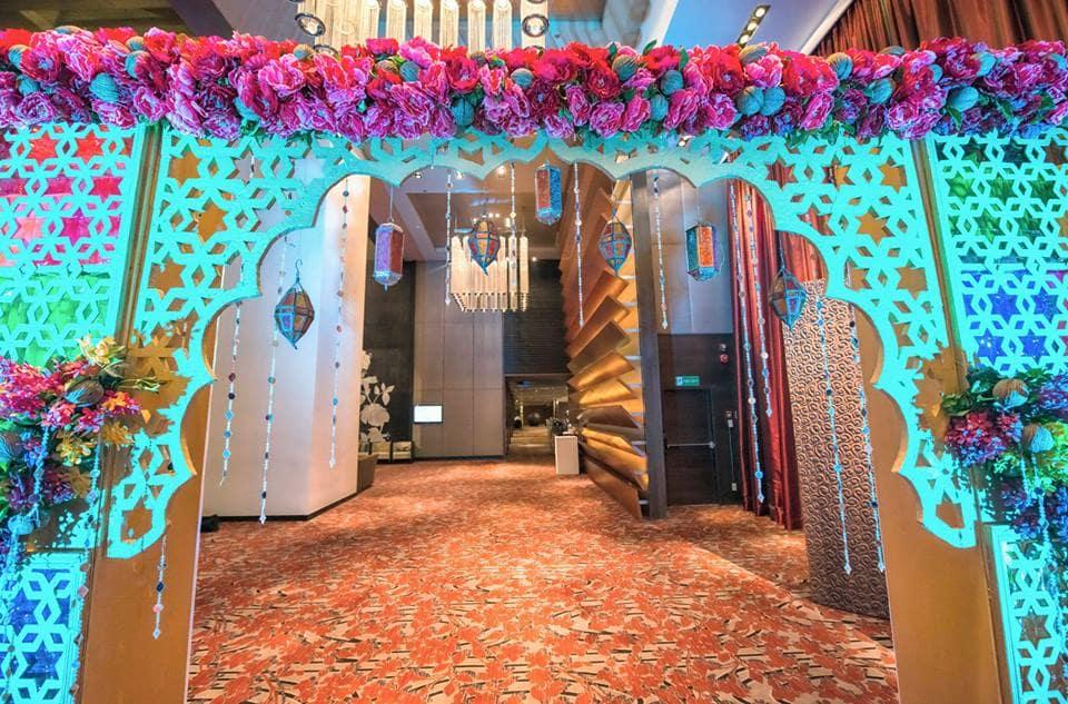 beautiful entrance decoration:coolbluez photography