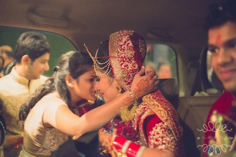 brides bidaai:our wedding chapter