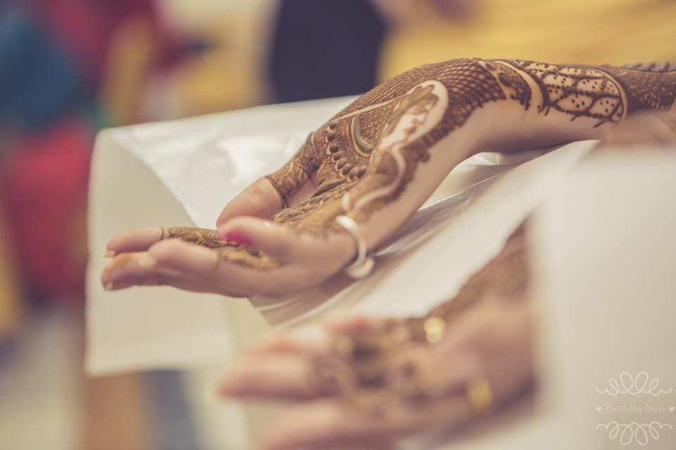 bridal mehndi:our wedding chapter