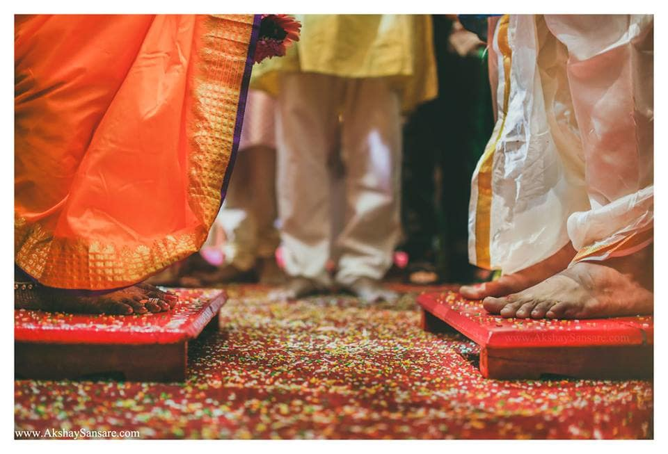 hindu wedding ritual: