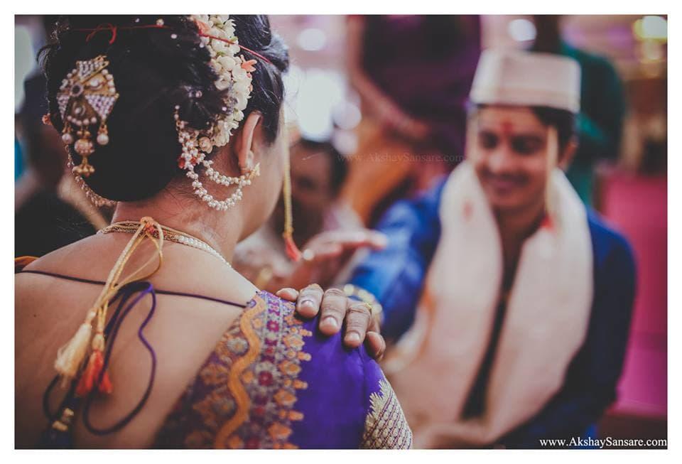 marathi wedding ritual: