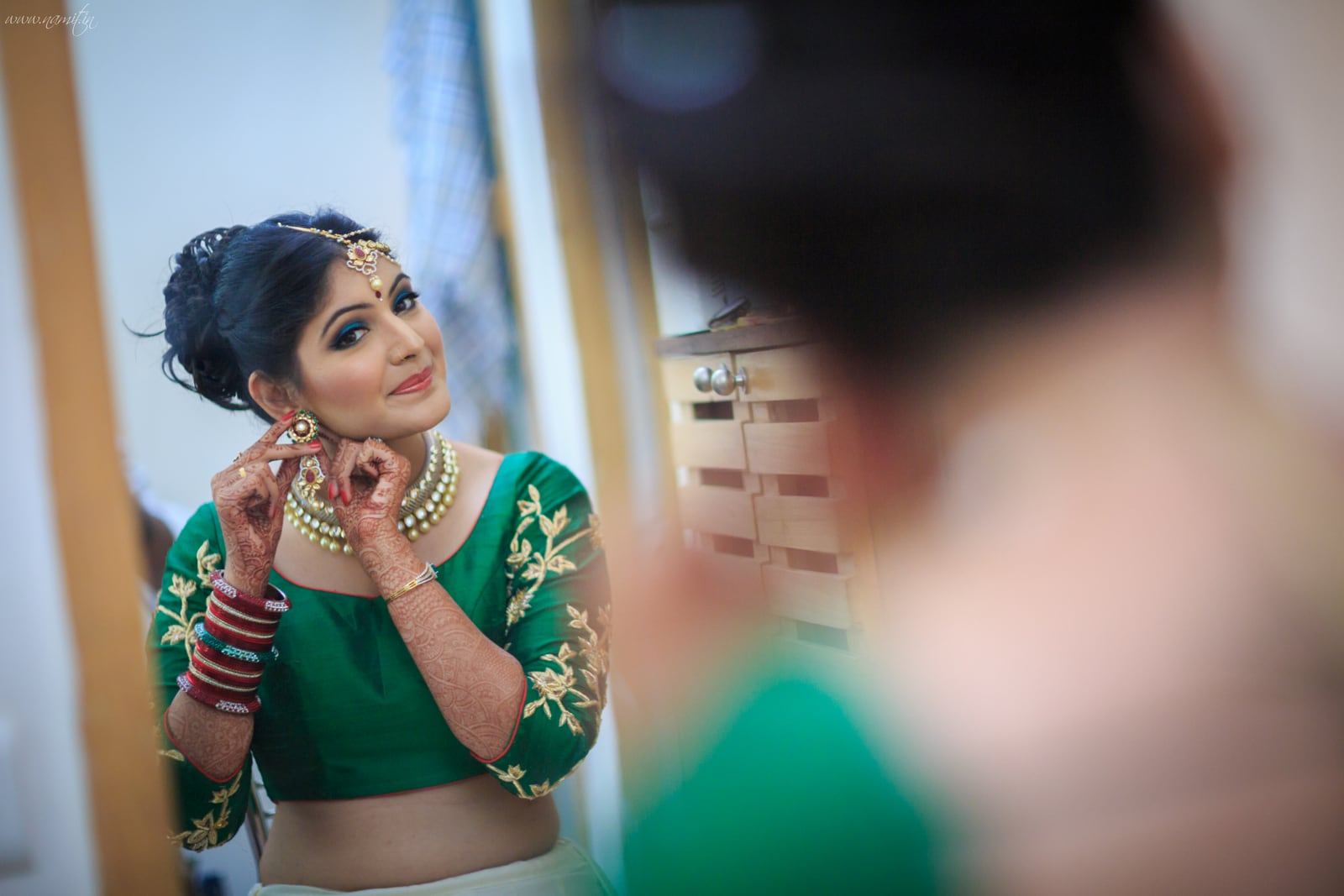 bridal makeup:namit narlawar photography