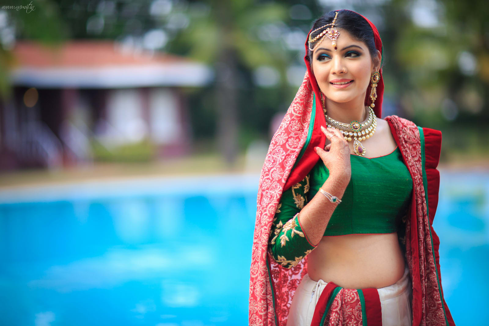 beautiful bridal photography:namit narlawar photography