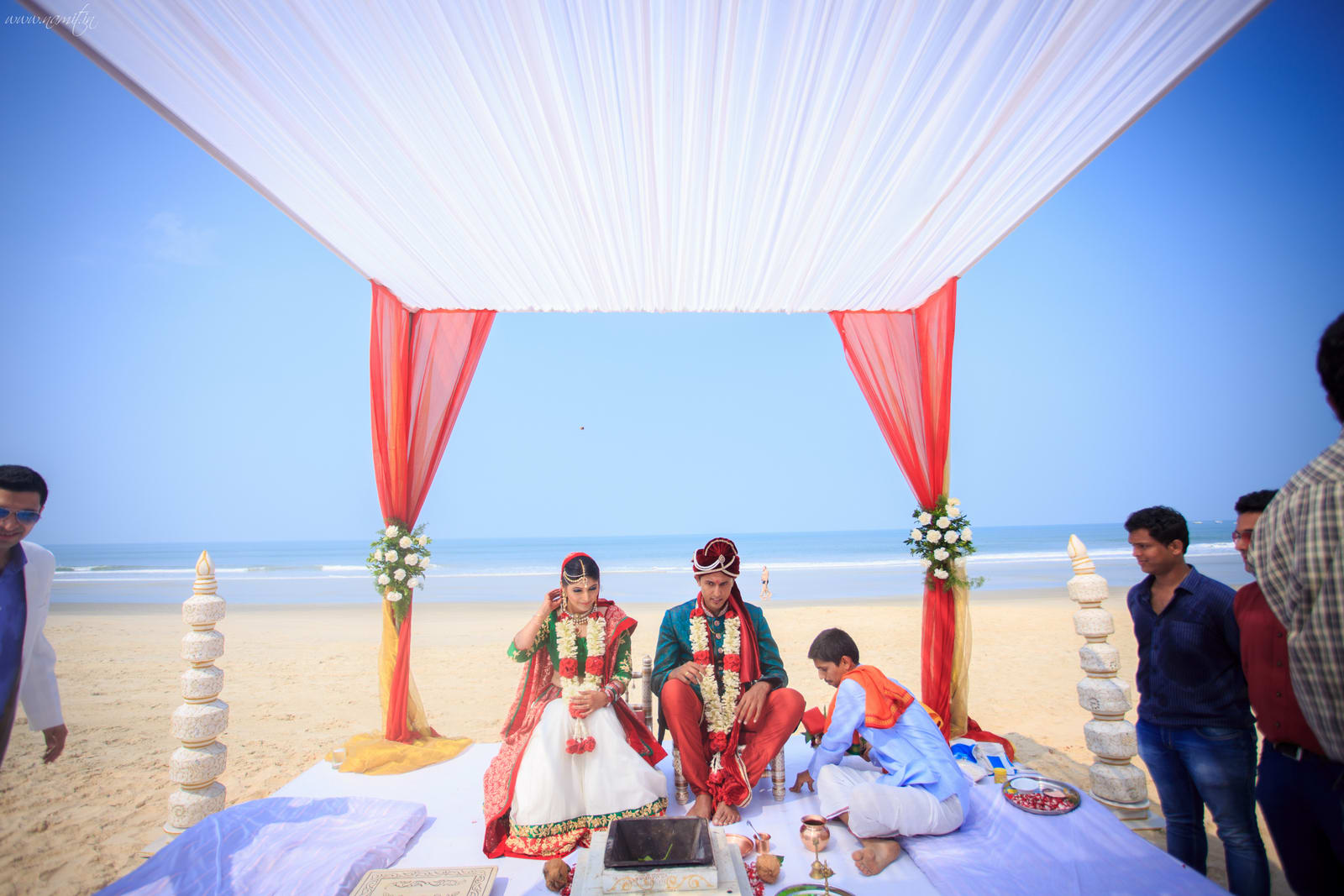 wedding ritual phere:namit narlawar photography