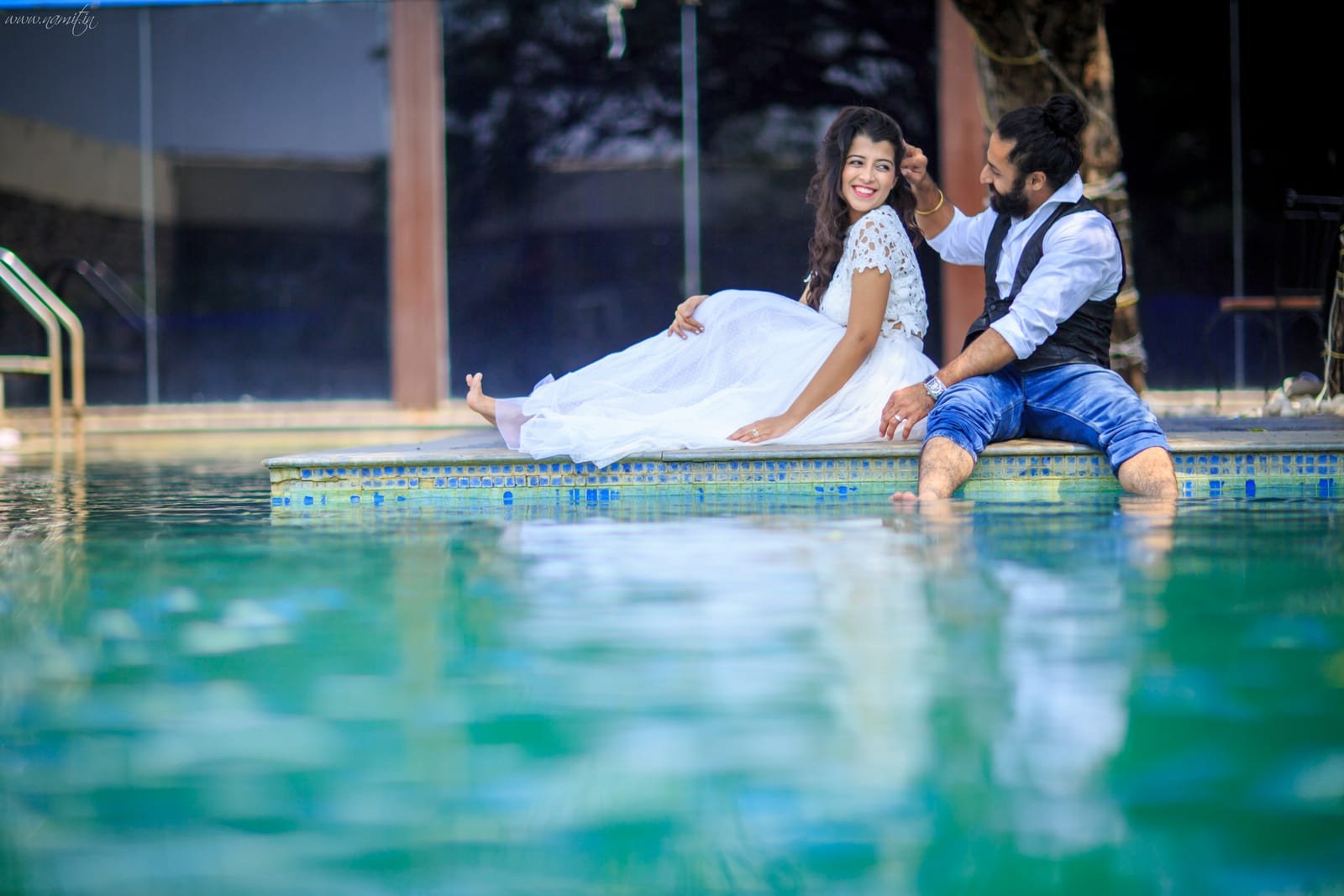 pre wedding loveable clicks:namit narlawar photography