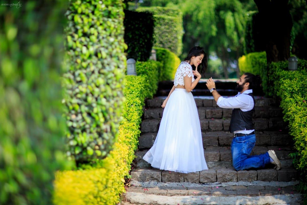 pre wedding photo shoot:namit narlawar photography