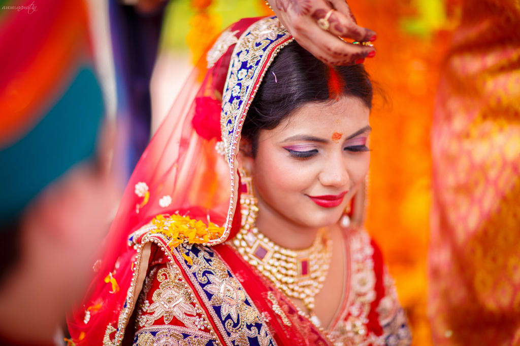 beautiful bridal click:namit narlawar photography