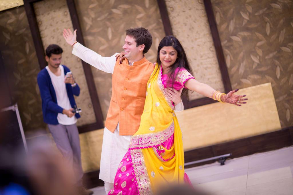 bride grooms dance:namit narlawar photography