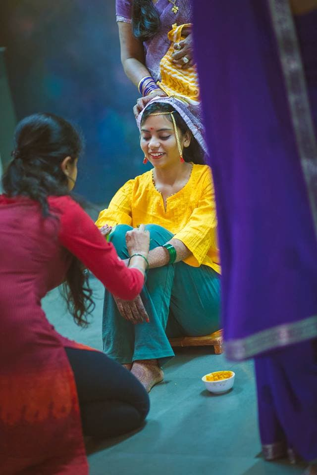 haldi ritual:amour affairs