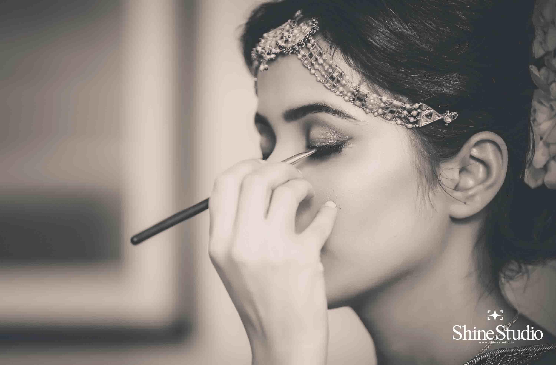 bridal makeup:shine studio