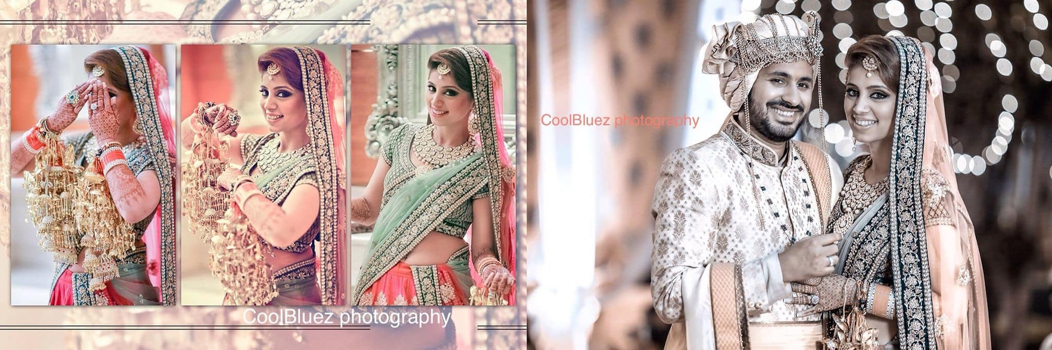beautiful bridal clicks:coolbluez photography