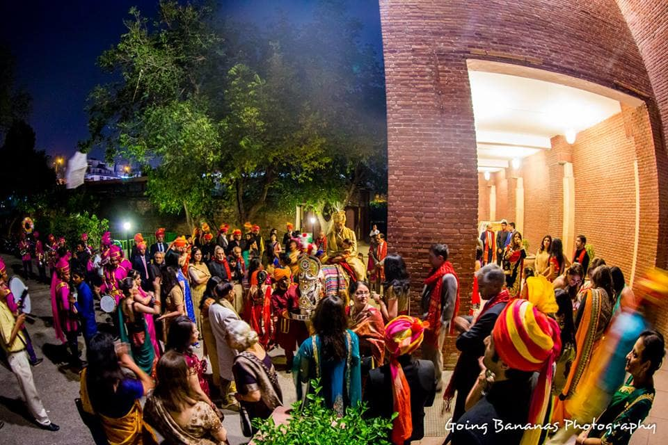 baraat welcome:going bananas photography