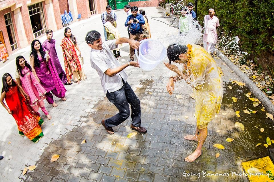haldi:going bananas photography