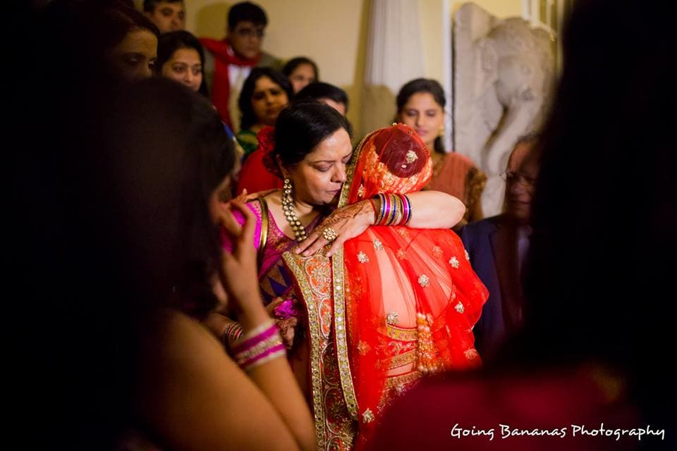 wedding ritual bidaai:going bananas photography