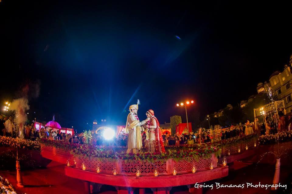 wedding ritual jai mala:going bananas photography