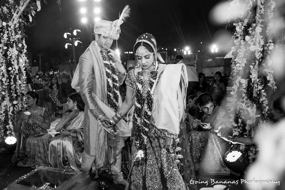 wedding ritual phere:going bananas photography