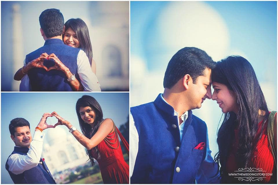 pre wedding loveable clicks:the wedding story