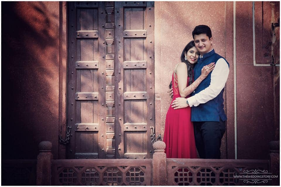 pre wedding clicks:the wedding story