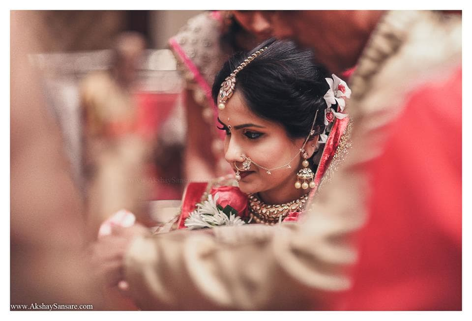 beautiful bridal photography:akshay sansare photography and films