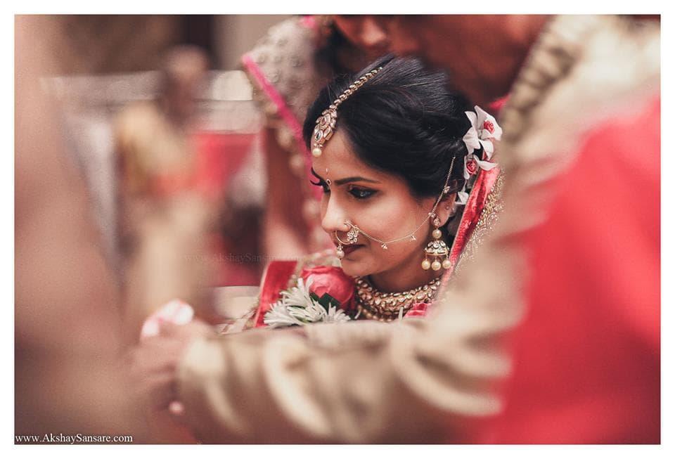 beautiful bridal photography:akshay sansare photography and films