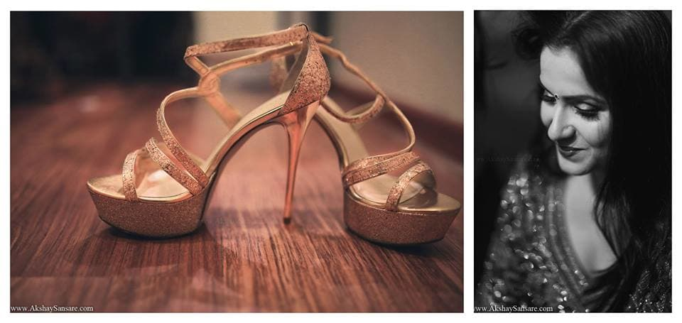 bridal footwear:akshay sansare photography and films