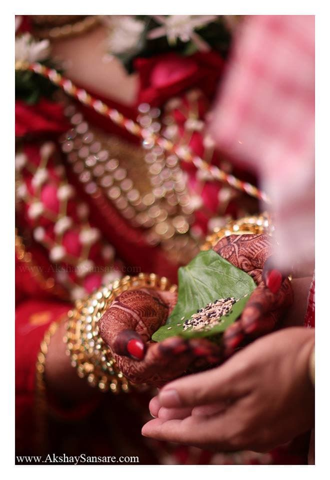 hindu wedding rituals:akshay sansare photography and films