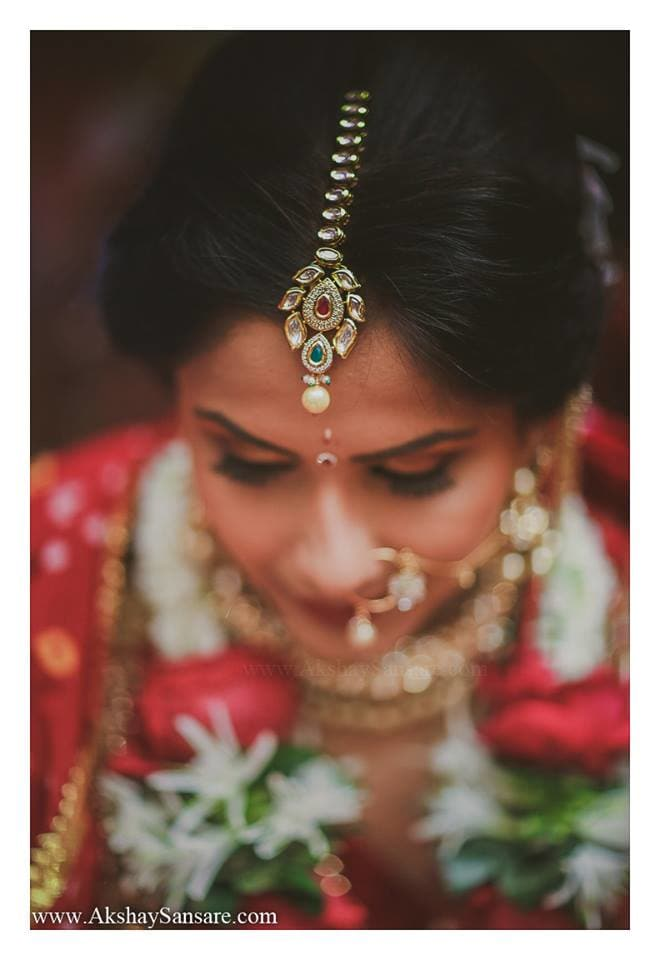 beautiful bride:akshay sansare photography and films