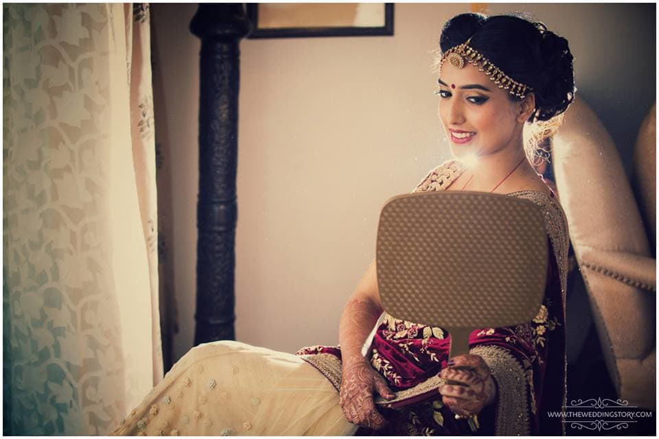 makeup click:the wedding story