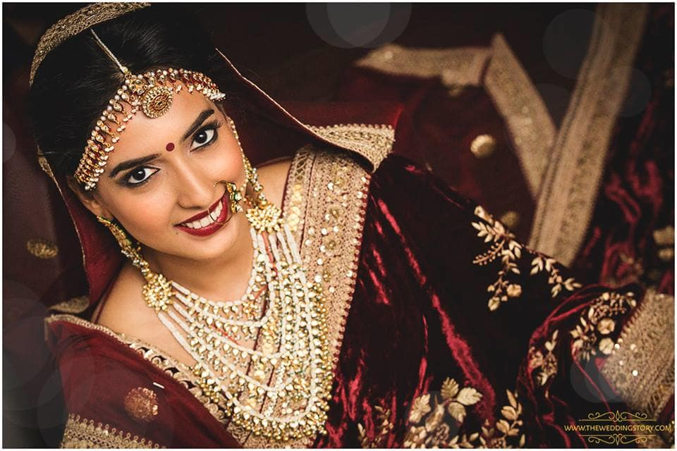 beautiful bridal click:the wedding story